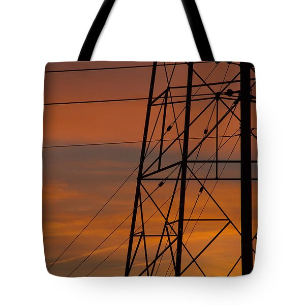 Tote Bag featuring the photograph Arizona Sunset by Anne Rodkin