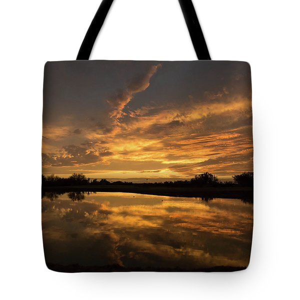 Arizona Sunset Tote Bag