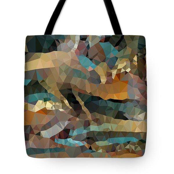 Arizona Triangles Tote Bag