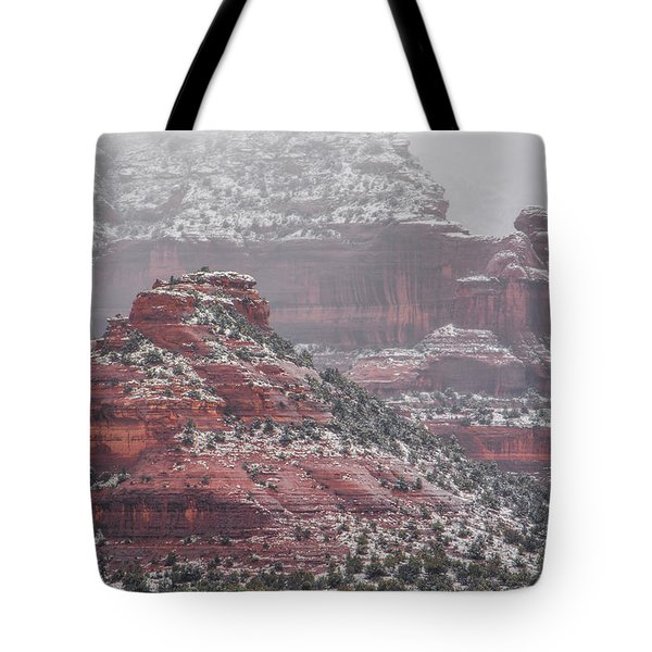 Arizona Winter Tote Bag by Racheal Christian