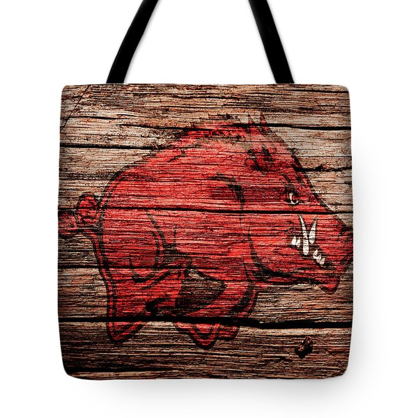 Arkansas Razorbacks Tote Bag
