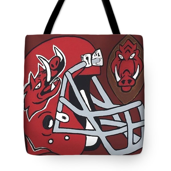 Arkansas Razorbacks Tote Bag
