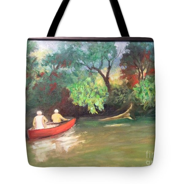 Arkansas River Float Tote Bag
