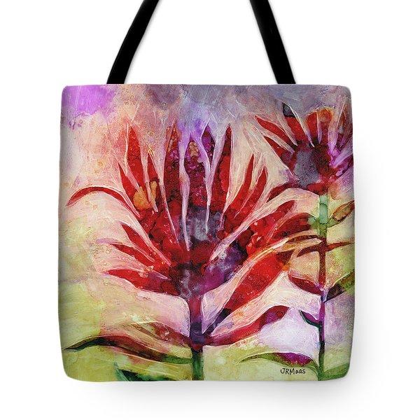 Arkansas Valley Indian Paintbrush Tote Bag by Julie Maas