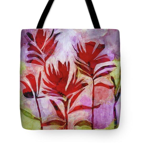 Arkansas Valley Paintbrush Tote Bag by Julie Maas