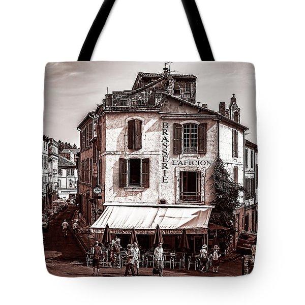 Arles, France, In Sepia Tote Bag