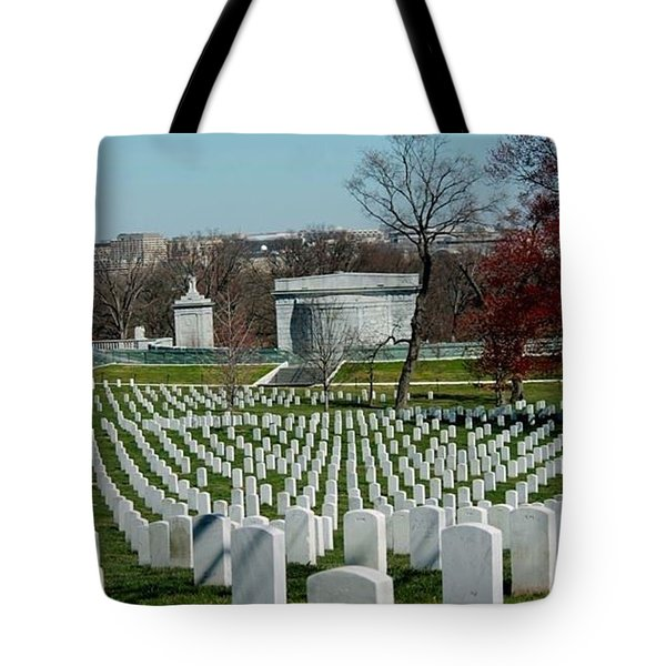 Arlington Cemetery Tote Bag