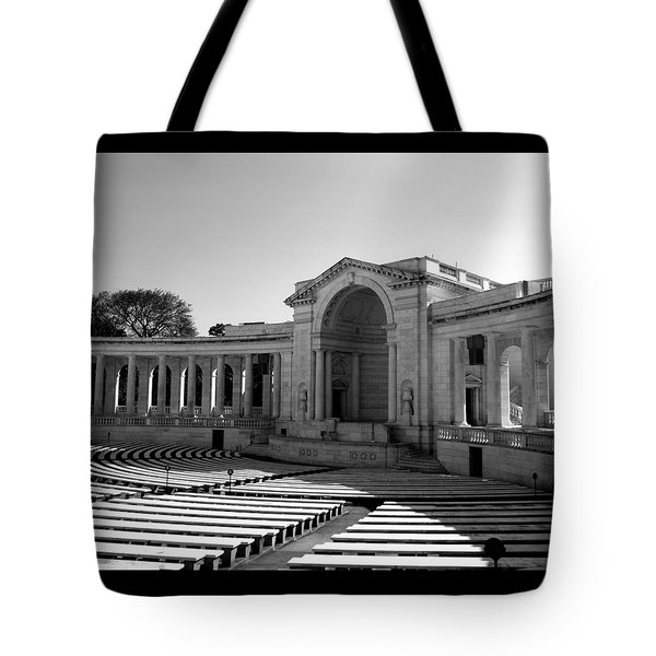 Arlington Memorial Amphitheater Tote Bag