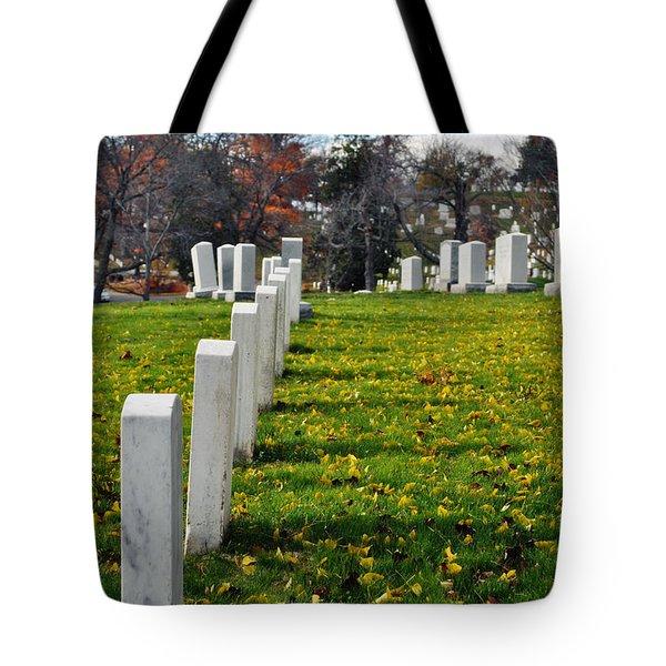 Arlington National Cemetery Hill Tote Bag