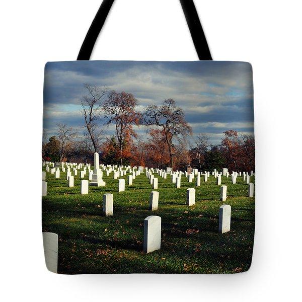 Arlington National Cemetery Landscape II Tote Bag