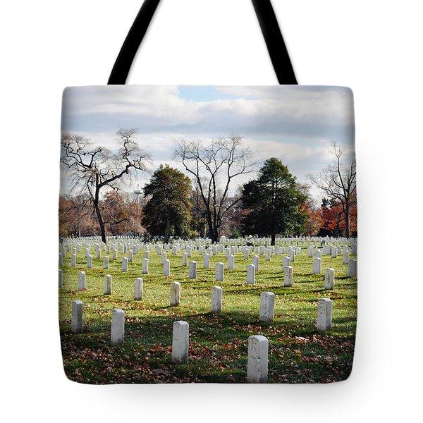 Arlington National Cemetery Landscape Tote Bag