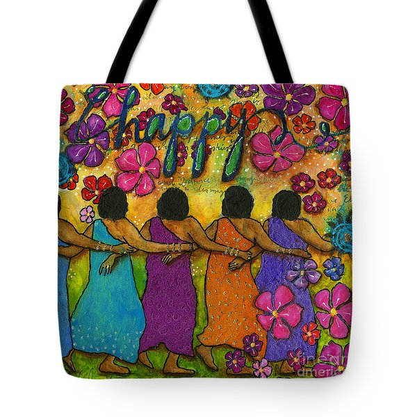 Arm In Arm - The Strongest Chain Tote Bag