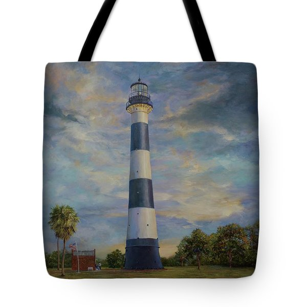 Armadillo And Lighthouse Tote Bag