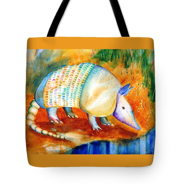 Armadillo Reflections Tote Bag