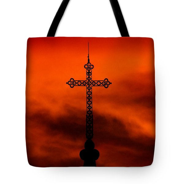 Armageddon The Wrath Of Hurricane Irma Tote Bag