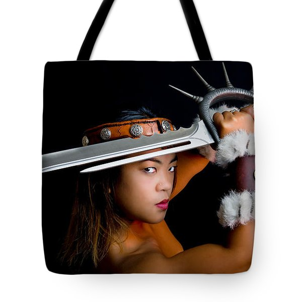 Armed And Dangerous Tote Bag