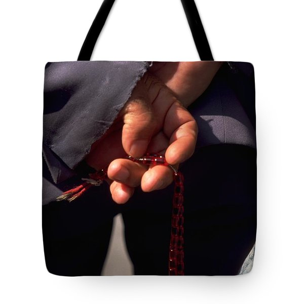 Armenian Prayer Beads Tote Bag