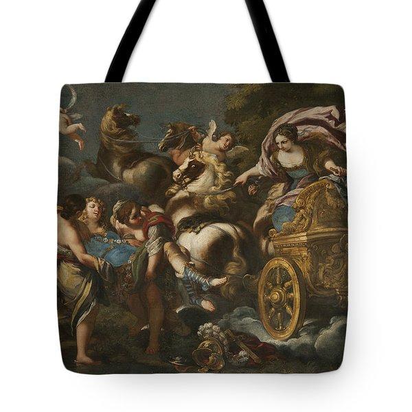 Armida Abducts Rinaldo Tote Bag