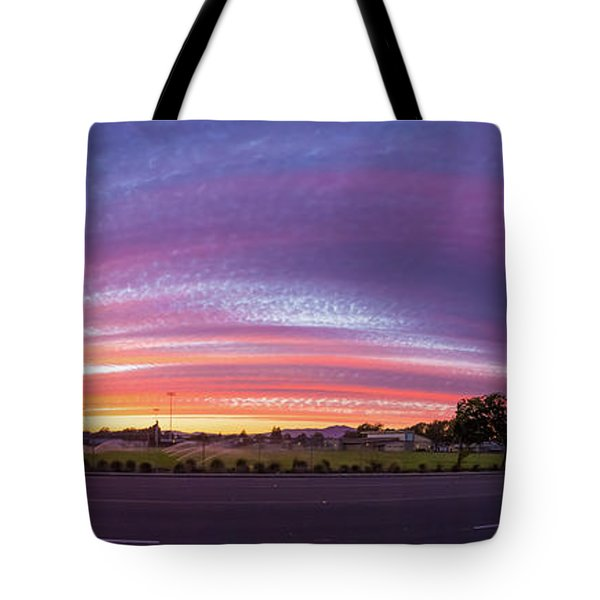 Tote Bag featuring the photograph Armijo Sunset by Geoffrey C Lewis
