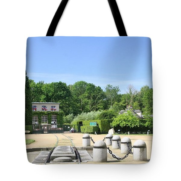 Tote Bag featuring the photograph Armistice Clearing In Compiegne by Travel Pics