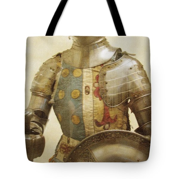 Armor Hot Dog Tote Bag by Kevin  Sherf