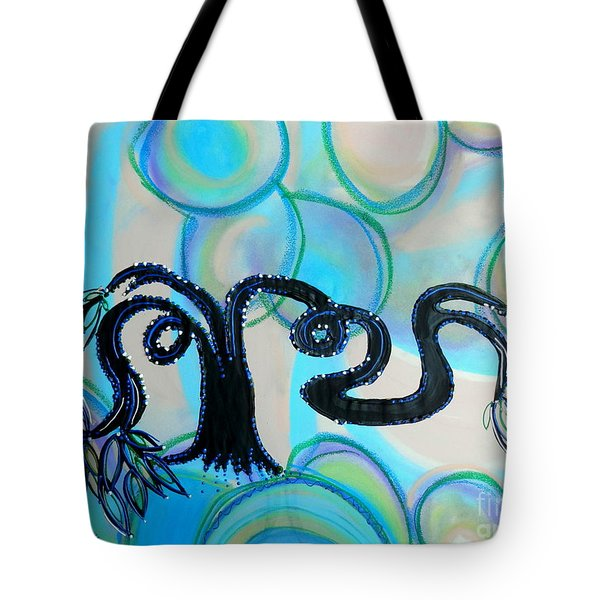 Arms Across The Forest Tote Bag