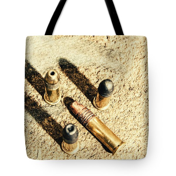 Arms Of Ammunition Tote Bag