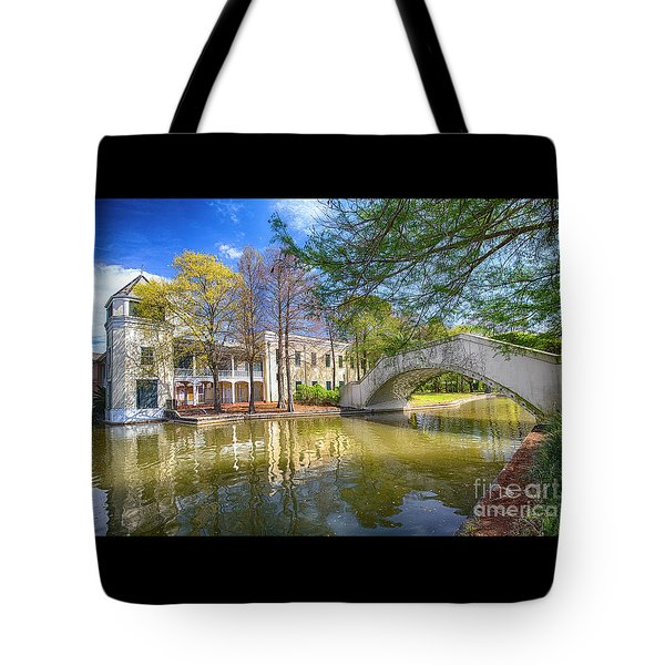 Tote Bag featuring the photograph Armstrong Park, New Orleans, La by Ron Sadlier