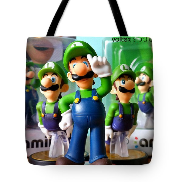 Army Of Luigi Tote Bag