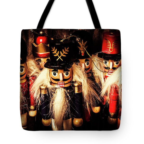 Army Of Wooden Soldiers Tote Bag