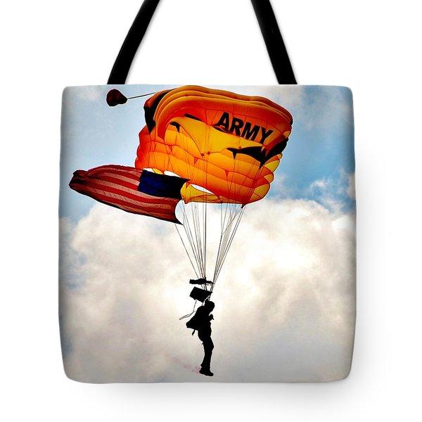 Army Paratrooper 2 Tote Bag