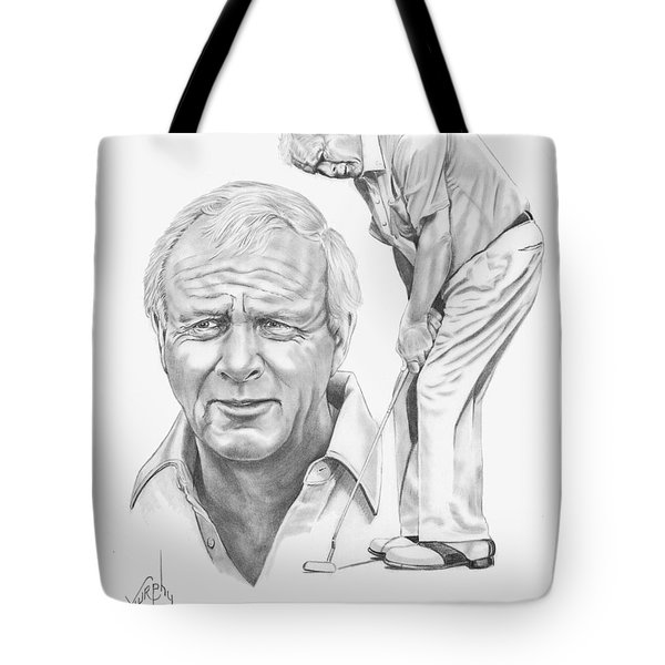 Arnold Palmer Tote Bag by Murphy Elliott