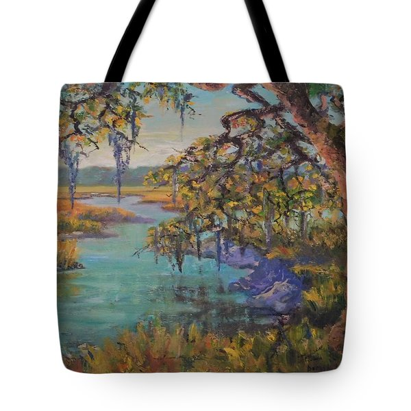 Tote Bag featuring the painting Aroma by Dorothy Allston Rogers