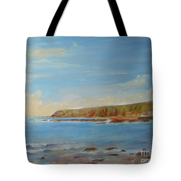 Around Burnmouth Scotland Tote Bag by Beatrice Cloake
