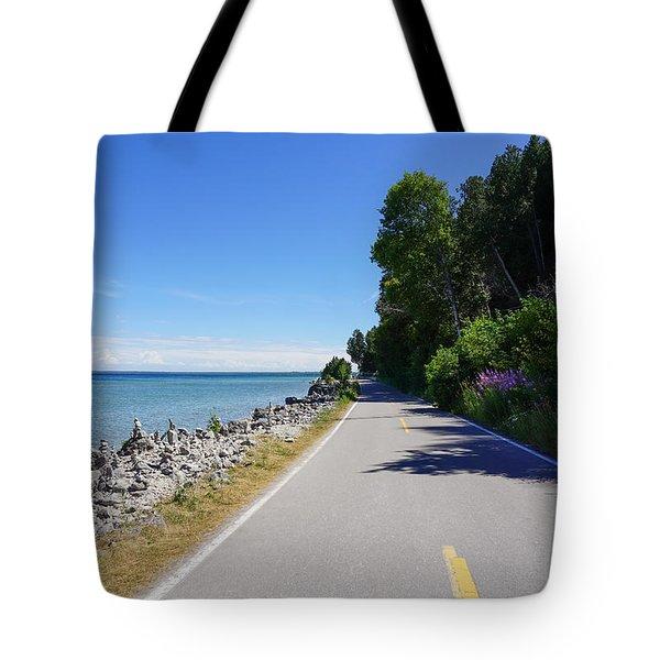 Around Mackinac Island Tote Bag
