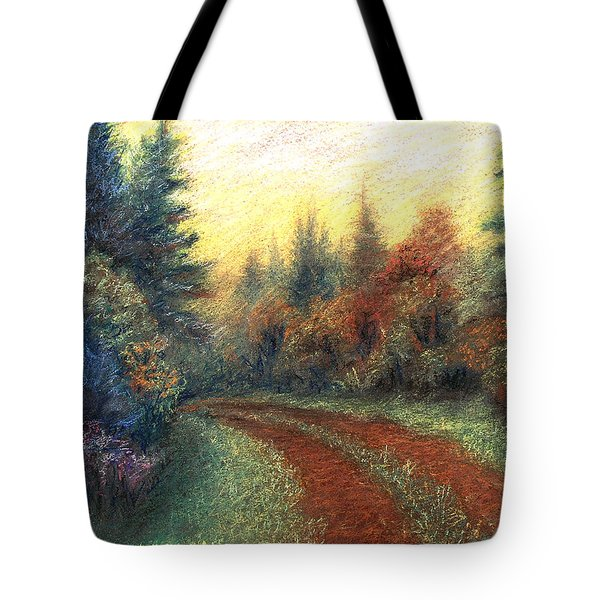 Around The Bend 01 Tote Bag