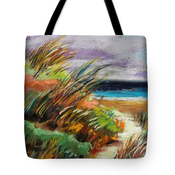 Around The Dune Tote Bag by John Williams