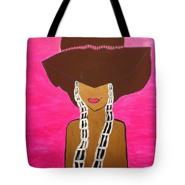 Around The Way Girl  Tote Bag