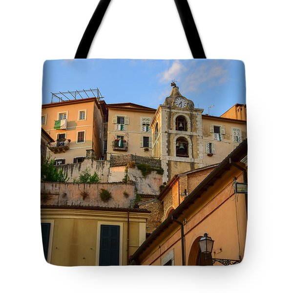 Tote Bag featuring the photograph Arpino Colors by Dany Lison
