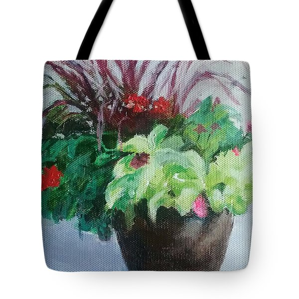 Arrangement Tote Bag
