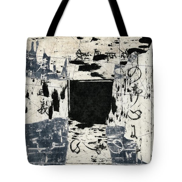 Arrhythmic Number Three Tote Bag