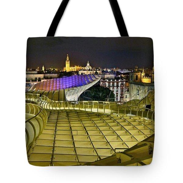 Arriba Las Setas De #sevilla Tote Bag