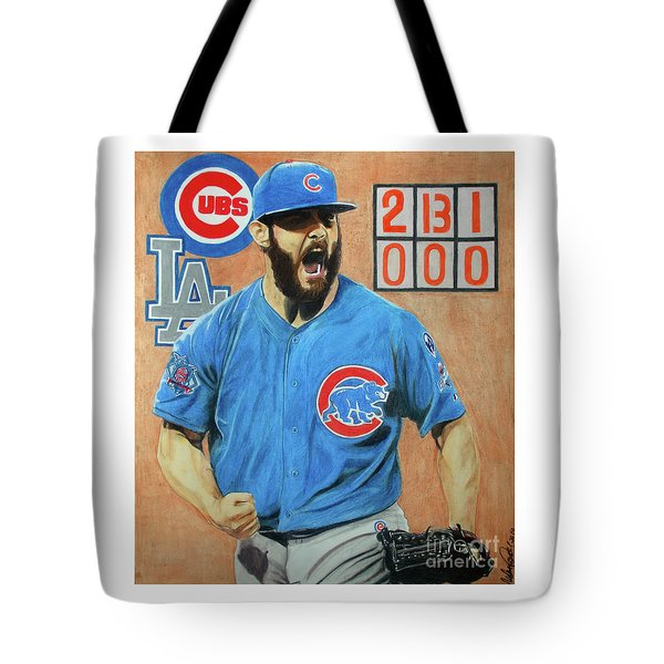 Arrieta No Hitter - Vol. 1 Tote Bag