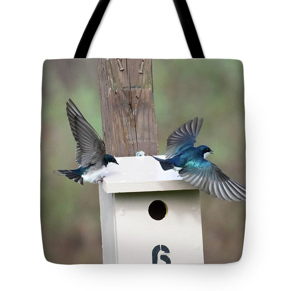 Arrival And Departure Tote Bag