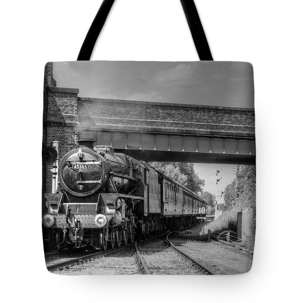 Tote Bag featuring the photograph Arrival At Quorn by David Birchall