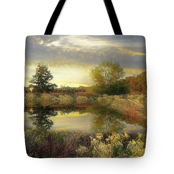 Arrival Of Dawn Tote Bag