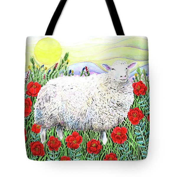 Arrival Of The Hummingbirds Tote Bag