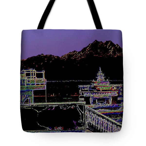 Arrival Tote Bag by Tim Allen
