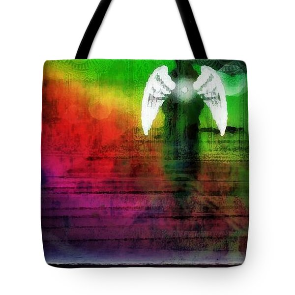 Arriving Tote Bag