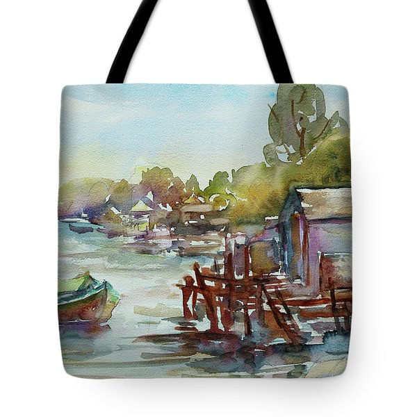 Arriving Tote Bag by Xueling Zou